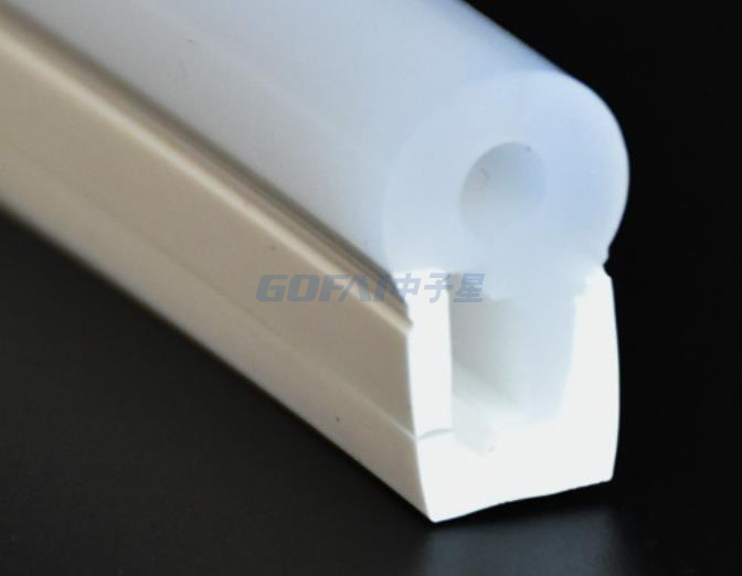 Extruded Profile Flexible Led Light Strip Silicone Tube