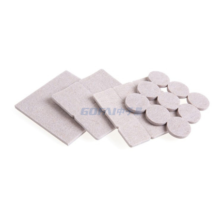 Non-slip And Noise Reduction Self-adhesive Furniture Felt Protector Pad