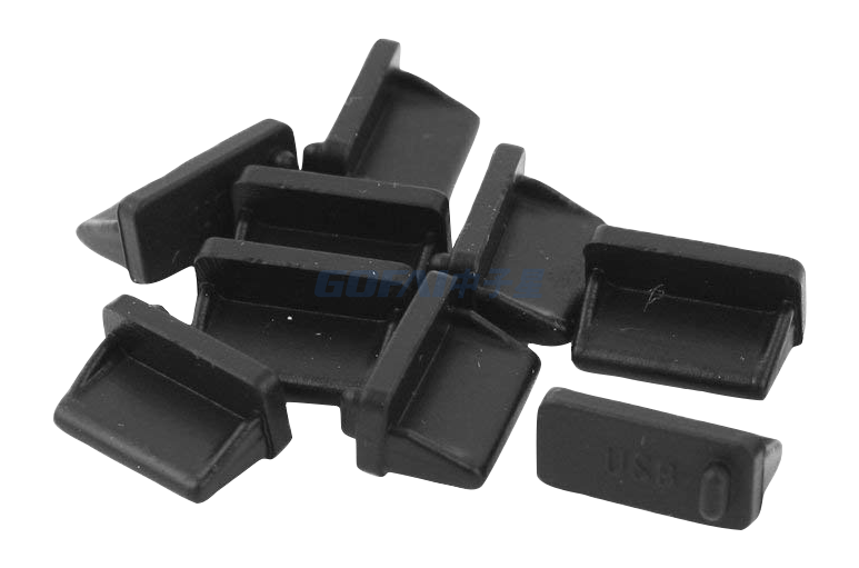 Silcone Rubber Dust Plug for USB A