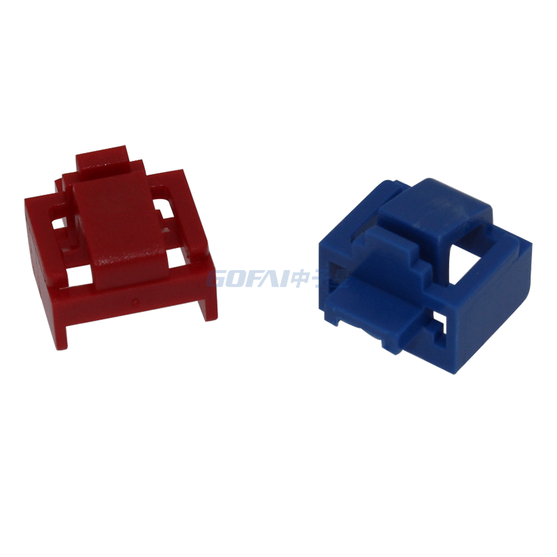 RJ45 Port Dust Blocker Plastic Protectors With Keys