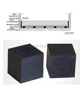 Soundproofing Floating Floor Acoustic Rubber Sound Isolation Block