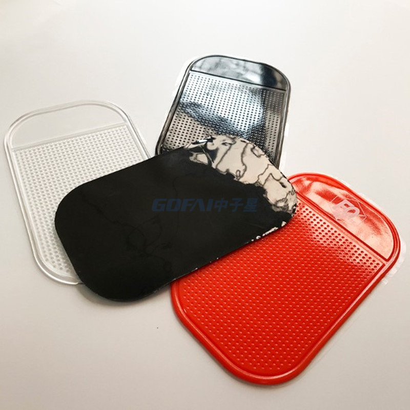 PU Gel Clear Car Sticky Pad Anti Slip Mat for Cell Phone in Car