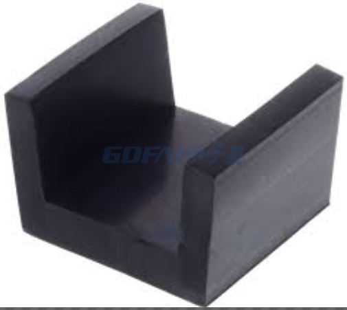 Acoustic Rubber Joist Vibration Isolating U-boat Floor Floaters